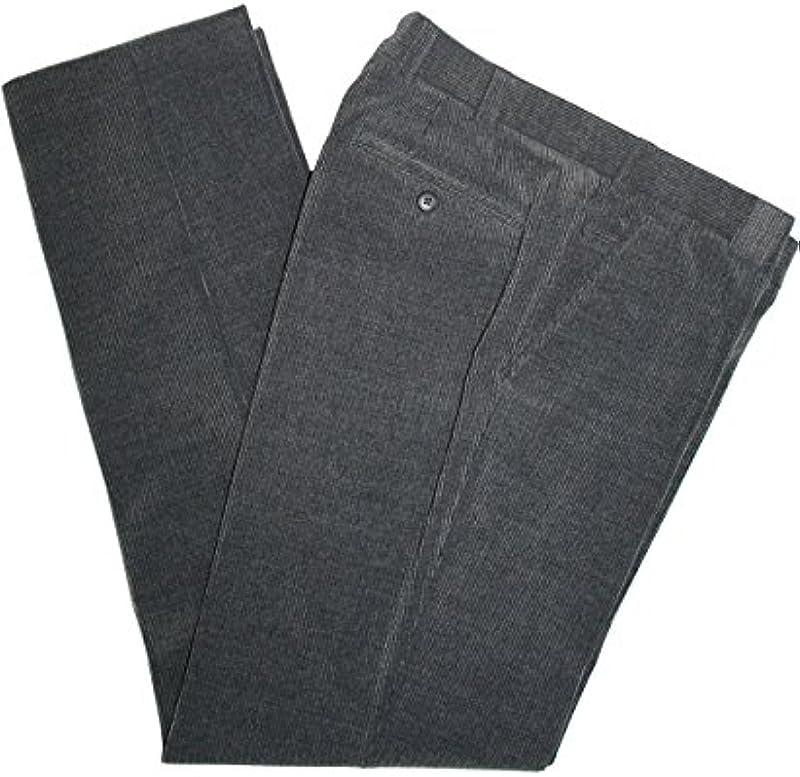 Meyer Roma 2-390 męskie spodnie z wełnianego sznurka, szare, taupe lub beżowe: Odzież