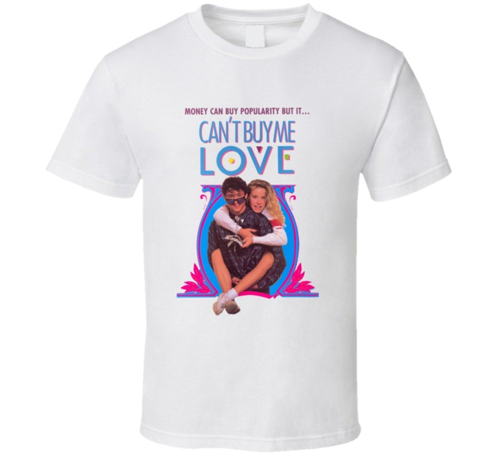 Can't Buy Me Love Retro Movie T Shirt S White