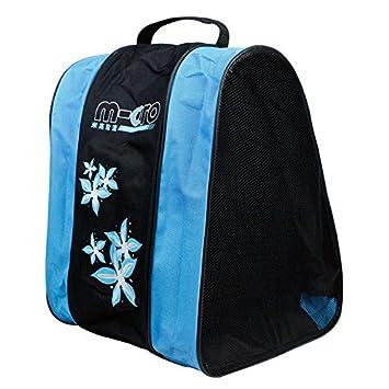 VVLOVE - Mochila de Patinaje para niños, Doble Red, Bolsa de Patinaje, Bolsa de Deporte, Azul: Amazon.es: Deportes y aire libre
