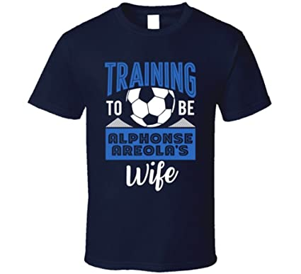 3e253ed9a Alphonse Areola Training to Be Wife France World Cup 2018 Football Fan T  Shirt S Navy