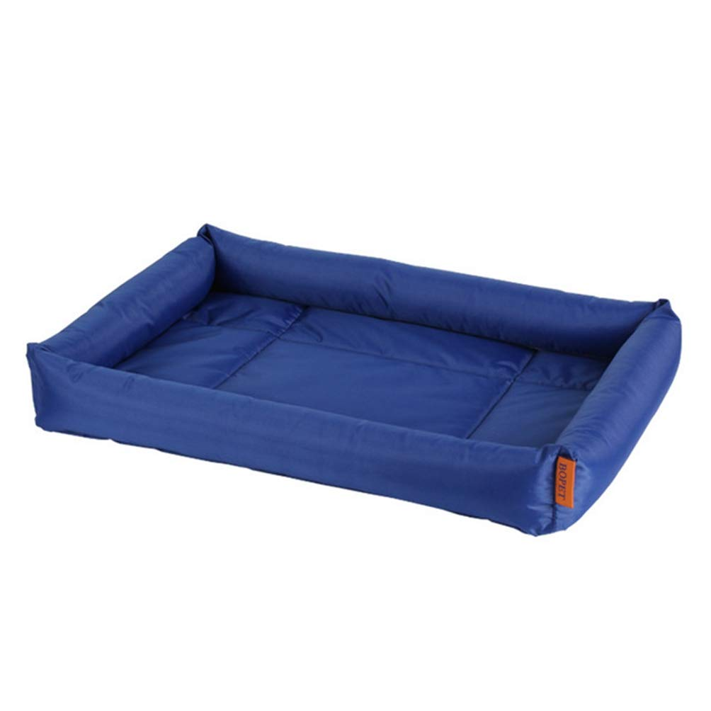 NB 72X57X10CM NB 72X57X10CM Jim Hugh Waterproof Dog Blankets Mat Cat Kennel Mat Pet Supplies Solid color Dog Pad Soft Cushion Summer Doggy Cave Bag Nest