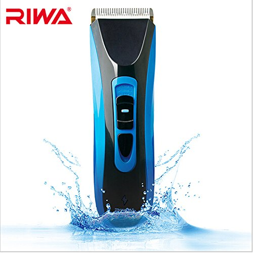 Riwa 750A Professional Cordless Hair Grooming Kit Wet/Dry Hair Clipper for Barber / Family Use (Clippers Dry Hair Wet)