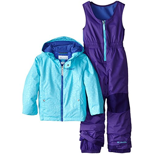 Columbia Little Girls' Frosty Slope Set, Atoll Emboss, 2T by Columbia