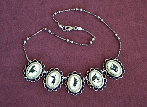 GREAT DANCERS Necklace - special edition - Silhouette Jewelry