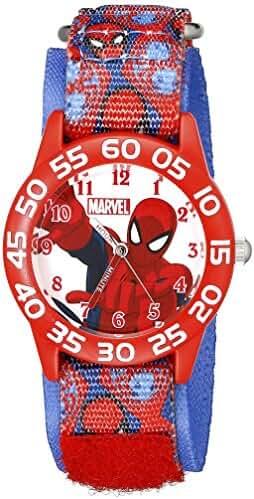 Marvel Kids' W001996 Spider-Man Analog Display Analog Quartz Blue Watch