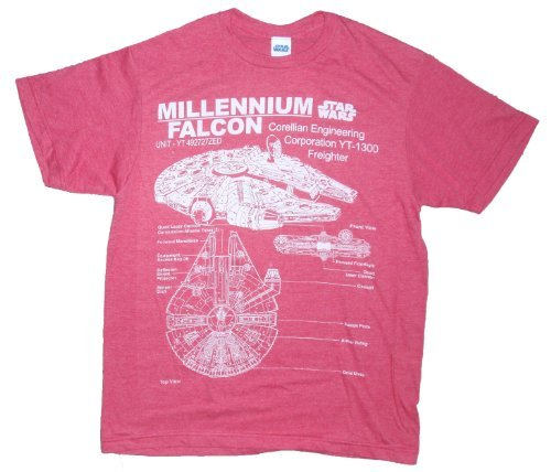 The 10 best millenium falcon t shirt