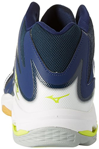 Chaussures De Depths Z3 safety Blu Volleyball Mizuno Homme white Mid blue Wave Yellow Lightning EvxqXI