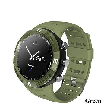 FJTYG GPS Hombres Reloj Inteligente Sport Smartwatch ...