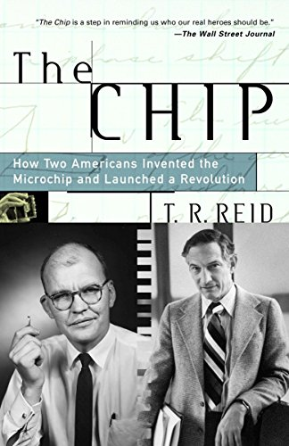 Dark Green Chip - The Chip : How Two Americans Invented the Microchip and Launched a Revolution