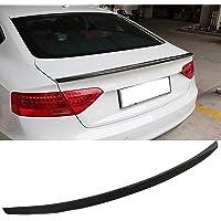 Carbon Fiber Spoiler Wing Past voor Audi A5 Hatchback 4 Deur 2009-2016 Kofferbak Spoiler, niet voor S5 Modellen