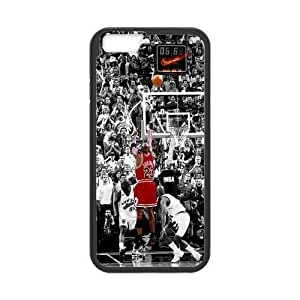 [Accessory] iPhone 6 Case, [Michael Jordan] iPhone 6 (4.7) Case Custom Durable Case Cover for iPhone6 TPU case(Laser Technology)