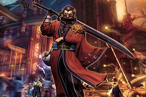 Run Fashion Final Fantasy Game Silk Wall Scroll Posters Hd H