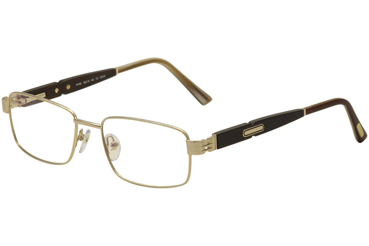 1b68bbc03e8 Amazon.com  Paul Vosheront Lunettes Eyeglasses PV330 PV330 C3 Gold Plated  Optical Frame 56mm  Health   Personal Care