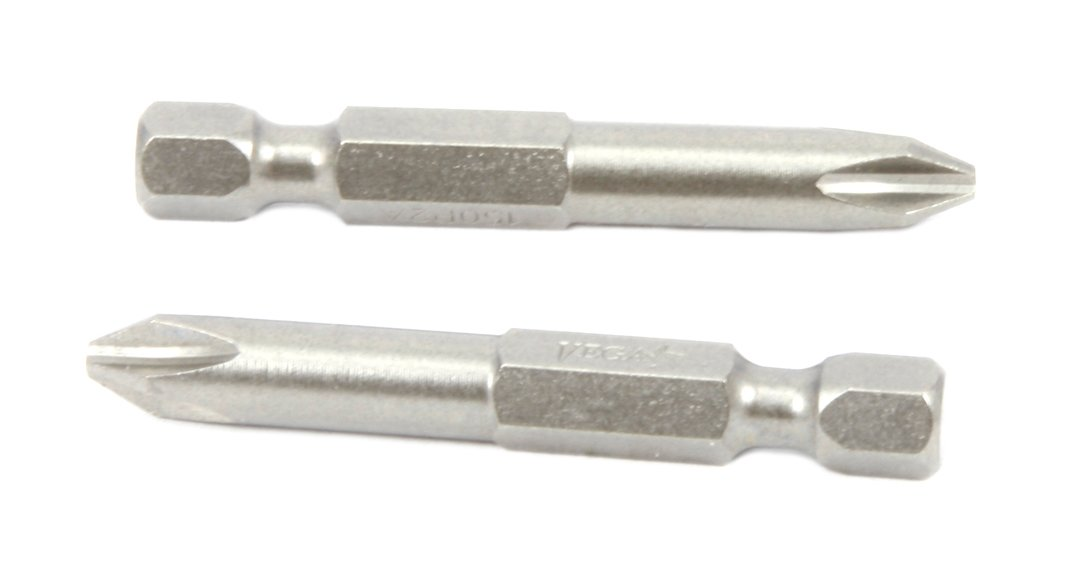 Forney 70915 Power Bit Phillips 2-Pack 2 by 2-Inch