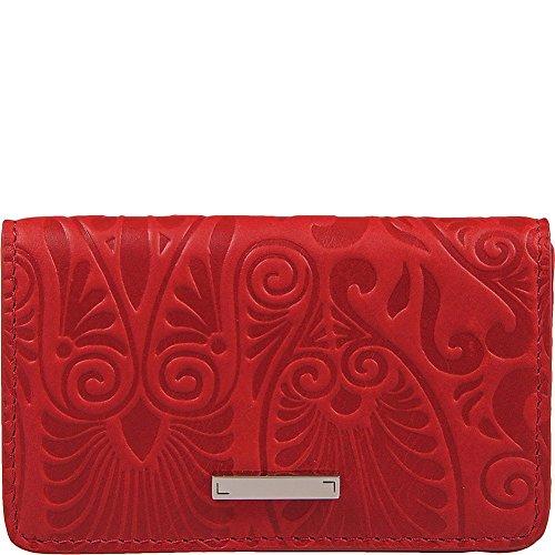 Lodis Denia Mini Card Case (Red, One (Lodis Mini Card Case)
