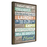 Bold And Brash Today I Will Be Thankful Laundry Painting Canvas Wall Art Squidward Paintings Abstract Modern Style For Living Room Bedroom Bathroom