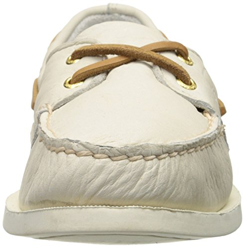 Women's Top Authentic Sider Original Boat Shoe Ivory Sperry Eye Two wOUfAq7q