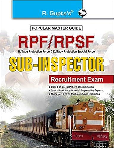 buy rpf rpsf sub inspector executive recruitment exam guide sub