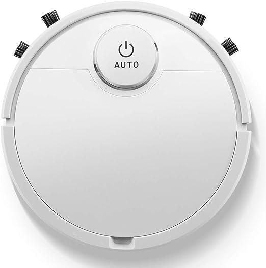 Gjfhome Robot Aspirador, Potencia de Succión 3000 Pa,Panel de Control Táctil,Robot Aspirador Y Fregasuelos,con Tecnología Dirt Detect,para Alfombras de Pelo Duro para Mascotas(Blanco): Amazon.es: Hogar