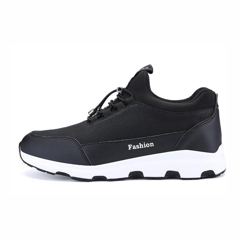 YaXuan Herren Sportschuhe, Outdoor-Lauf Camping Turnschuhe, Koreanische Mode Lässig Flut Schuhe, Wilde Atmungsaktive Schuhe, Wandern Trekking Schuhe, (Farbe : B, Größe : 39)