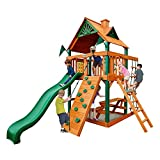 Gorilla Playsets Chateau Tower Swing Set w/ Timber Shield