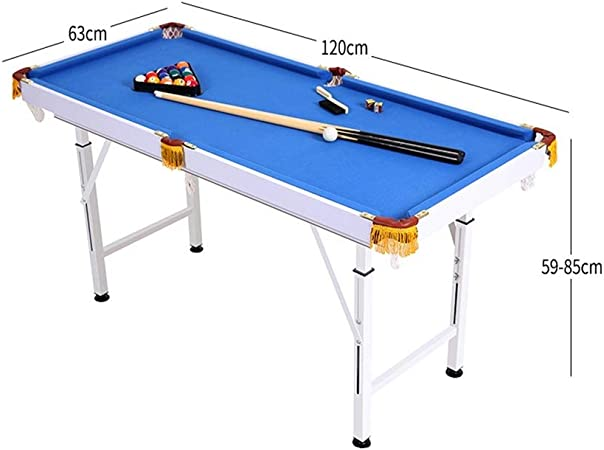 LCRACK Set De Billar con Bolas Tacos, Tiza, Mesa De Billar for Snooker Deporte Juego Familia (Color : Foldable+liftable): Amazon.es: Hogar