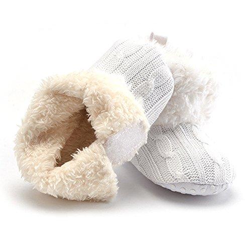 Lanchengjieneng Baby Schuhe Krabbelschuhe Weiß