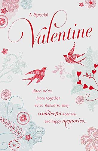 Recuerdos Felices tarjeta del día de San Valentín: Amazon.es ...