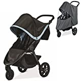 Britax B-Free Stroller, Frost With Raincover Set