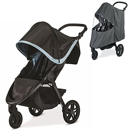 Britax B-Free Stroller, Frost With Raincover Set by Britax USA