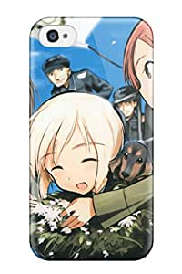 New Style Hxy Strike Witches Erica Hartmann Gertrud Barkhorn Minna-dietlinde Wilcke Premium Tpu Cover Case For Iphone 4/4s