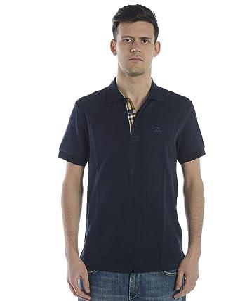 Burberry - Polo - para Hombre Bluscuro M: Amazon.es: Ropa y accesorios