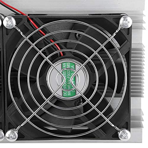 Thermoelectric Cooler, Asixx DIY Thermoelectric Peltier Refrigeration  Semiconductor Cooler Air Cooling Device 20A 12V