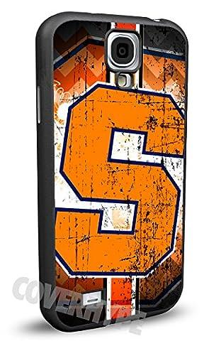 Syracuse Orange Cell Phone Hard Plastic Case for Samsung Galaxy S4 (Syracuse Galaxy S4 Phone Case)
