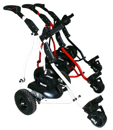 2013 Kolnex Electric Golf Caddy, Trolley, Cart. Full Remote Control. Model TXR360. Red frame.