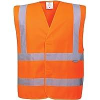 Portwest C470 orrl/XL Chaleco reflectante, talla L/XL, color naranja
