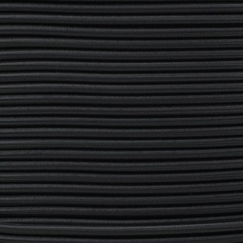 "Paracord Planet 3/16"" Elastic Bungee Nylon Shock Cord Available in Various Colors & Sizes – USA Made by ParacordPlanet"