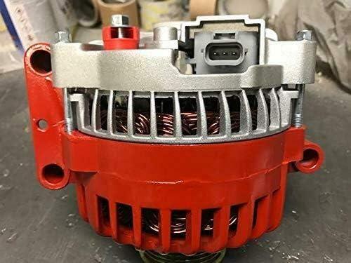 EAgle High 250 AMP High Output Red Alternator Fits For Ford F-250 F350 F450 F550 Super Duty V8 6.0L 363cid Diesel 2006-2007