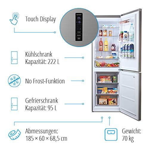 MEDION MD 37290 - Frigorífico-congelador, función antihielo, 15 kg ...
