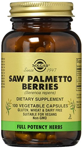 Solgar Potency Palmetto Vegetable Capsules product image