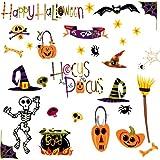 RoomMates PJ2003SCS Happy Halloween Peel and Stick Wall Decals