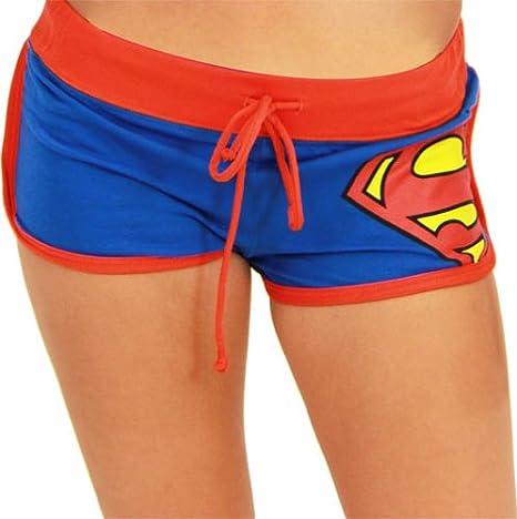 Batman-Wonder Woman-Superman Booty Shorts