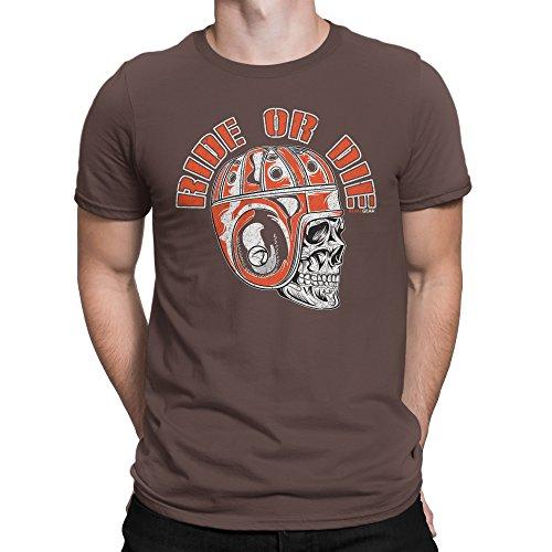 Browns Fan T-Shirt, Ride or Die (XL) ()