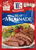McCormick's Meat Marinade Seasoning Mix 1.12oz (Pack of 6)