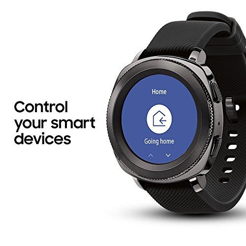 Samsung Gear Sport Smartwatch (Bluetooth), Black, SM-R600NZKAXAR – US Version with Warranty