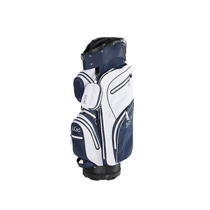 JuCad Golf Bag Aqua Stop impermeable Golfbag Color: Blanco y ...