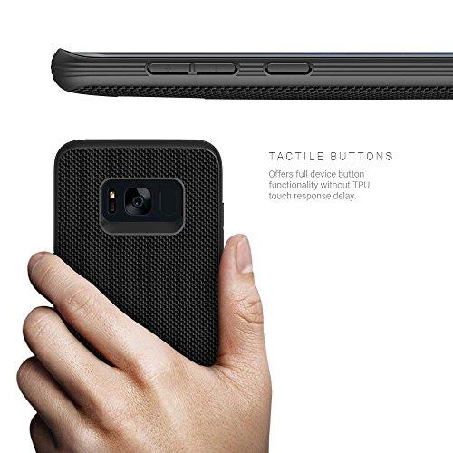 Evutec Galaxy S8+ Plus Fall [Aergo Series] Schutz Ballistic Nylon Military Drop getestet Handy Schutzhülle–Mit afix Halterung