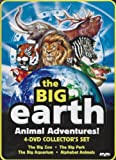 The Big Earth Animal Adventures: Collectors Set (The Big Zoo / The Big Park / The Big Aquarium / Alphabet Animals)