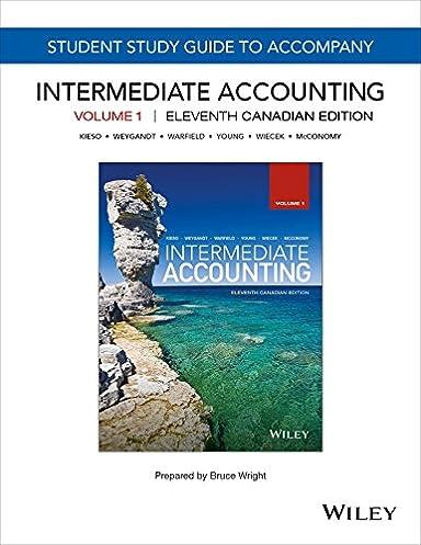 intermediate accounting 11th canadian edition volume 1 study guide rh amazon com Intermediate Accounting Spiceland Intermediate Accounting Spiceland