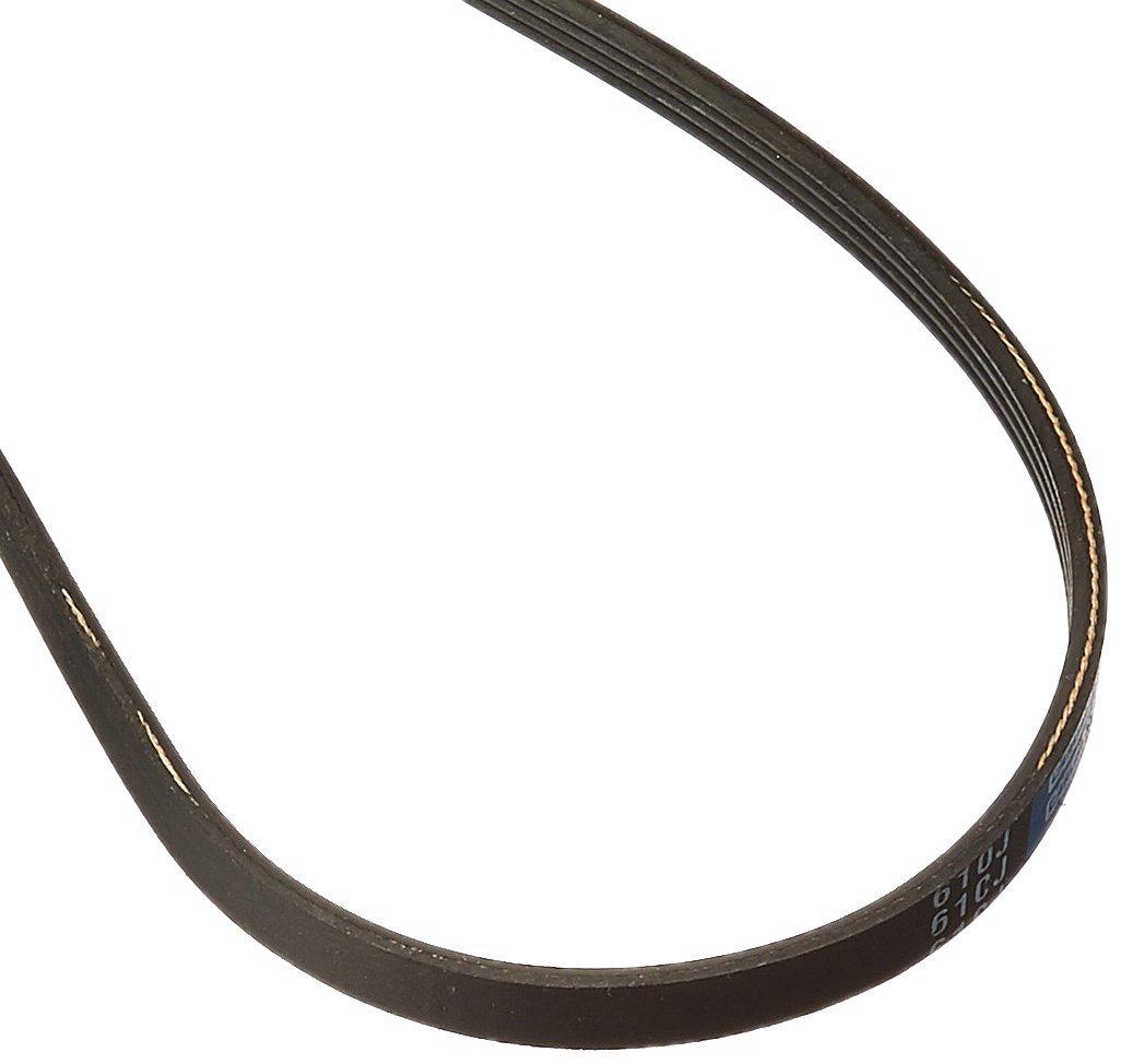 Rubber 61.5 Length 61.5 Length 0.368 Belt Width CARLISLE 610J4 V-Ribbed Belts with 4 Ribs J Section
